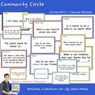 Student Interest Inventory Prompts    This resource includes 200 Community Circle (student interest inventory) prompts supplied in 12 different forma...