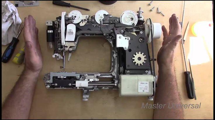 Смазка и ремонт швейной машины brother star- 60.Часть 2.Видео №96.
