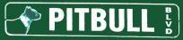 Pitbull Blvd. Novelty Street Sign