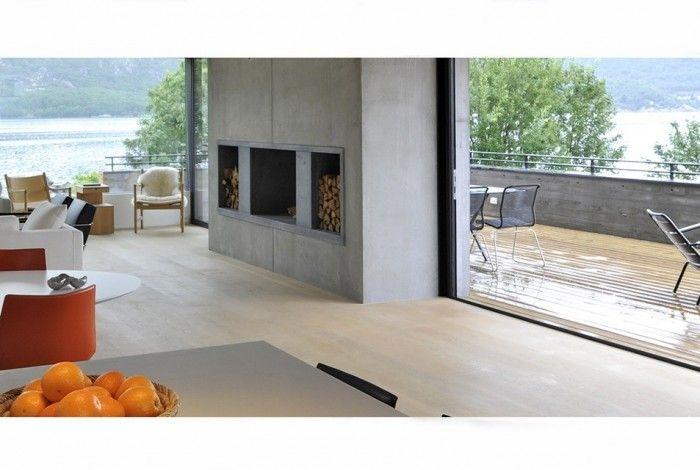 Villa Vivendestien, Stavanger; Tommie Wilhelmsen. Fireplace.