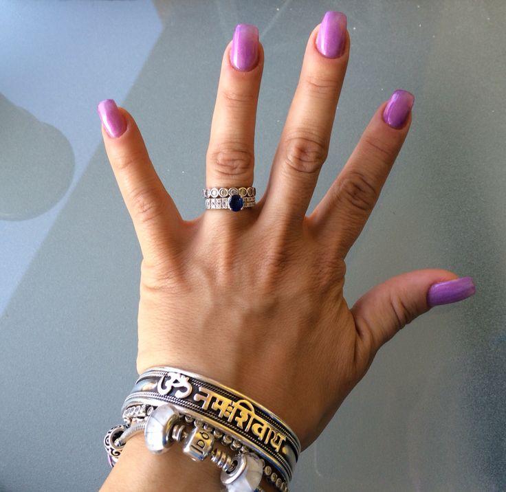 Gel color lilac