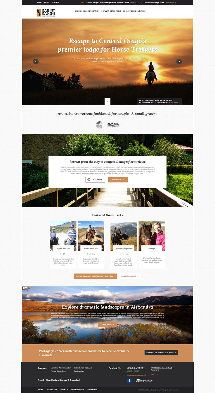 A Zeald Website has helped Rabbit Range Limitedl (http://www.rabbitrange.co.nz/) to achieve their business dream, visit www.zeald.com/Our+Work for more. The art and science of good #websitedesign #website #websiteredesign #webdesign #designinsperation #rethinkyourwebsite #layout #redesign #redesignideas #redesigninspiration #creative #landingpages #beforeafter #responsive #leadgeneration #travel #wordpress #leadgen