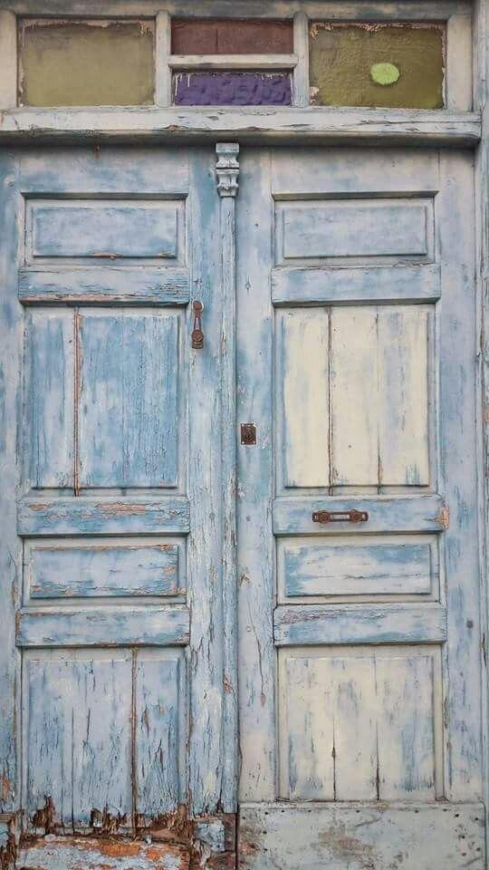 #Blue #Door #Textures #CaminoDeSantiagoDeCompostela #Spain