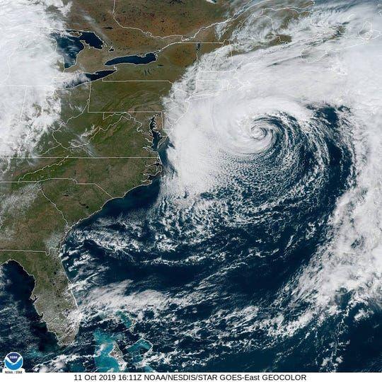 Subtropical Storm Melissa Has Formed Off The Coast Of New England Storm Hurricane Season New England