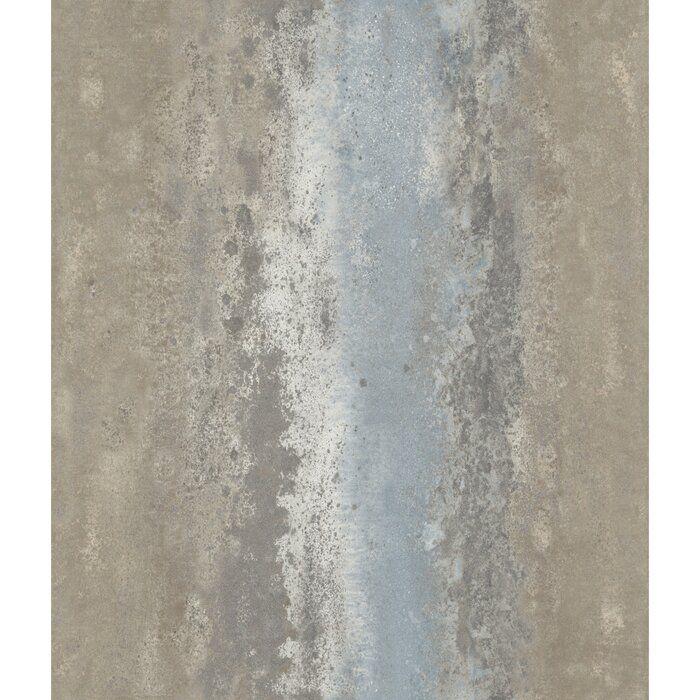 Tashia Oxidized Metal 16 5 L X 20 5 W Peel And Stick Wallpaper Roll Peel And Stick Wallpaper Peelable Wallpaper Wallpaper Roll