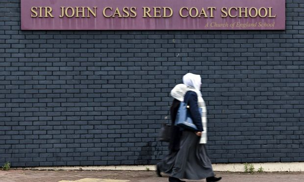 Sir John Cass secondary praised by teachers as school downgraded on safeguarding issues