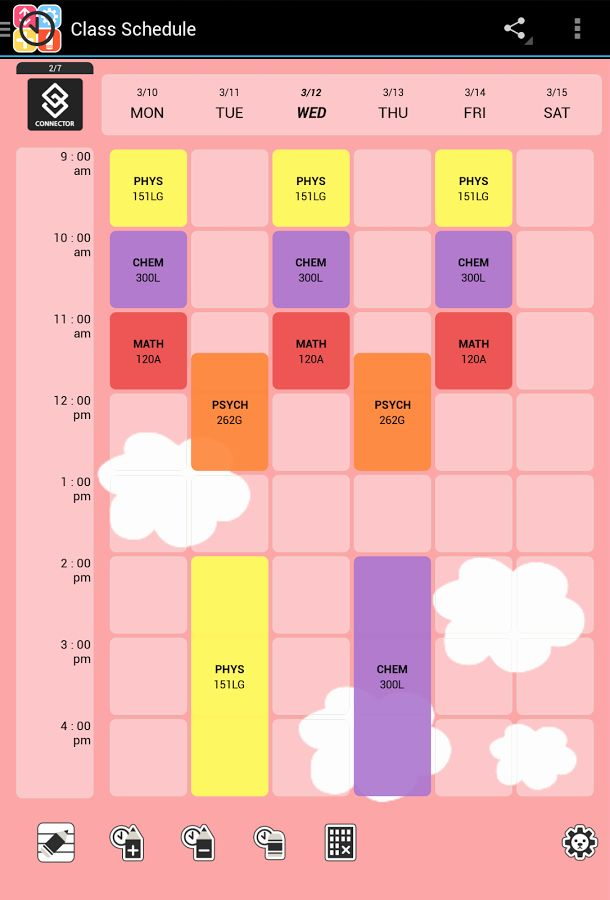 Free Class Schedule Template Elegant Cute Class Schedule Maker Printable Receipt Template Schedule Maker Class Schedule Template Class Schedule