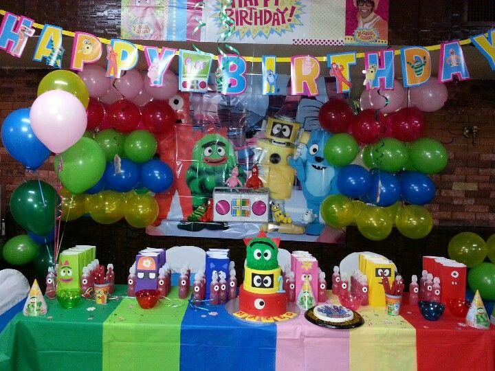 Mateo's Diy Yo Gabba Gabba Birthday party! photo by: Toni Rosales