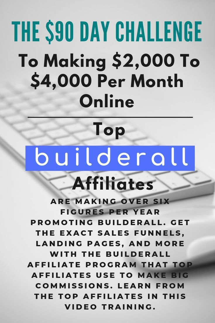 Join The Builderall Business Affiliate Program We Ll Show You How Get The Exact Sales Funnels Landi Self Employed Jobs 90 Day Challenge Work From Home Tips