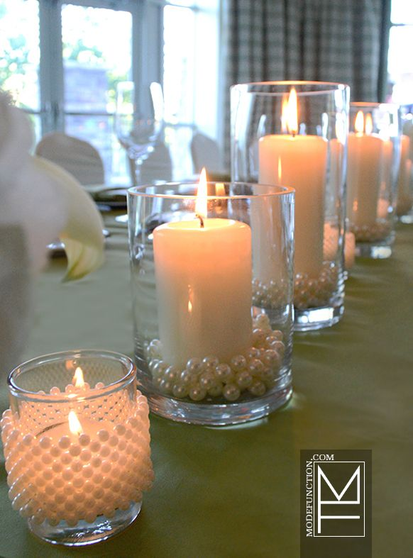 Event decor, flowers, design and styling for  Eva & Scott 's Intimate Granny Smith & Pearls Wedding at JW Marriott The Rosseau, Muskoka 07-13-13 by Mode Function Event Design Ltd. www.modefunction.com
