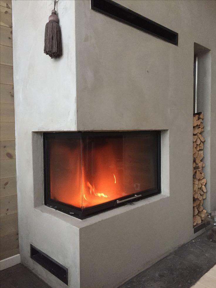 Fireplace modern style