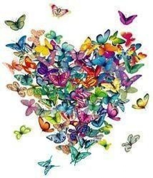 Butterflies, God's reminder of His ability to change something wrapped up, bound and in the dark, into something beautiful and able to fly!