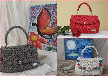 #Tutorial   Come realizzare le roselline per questa borsa in fettuccia.   http://ilfilodiariannaonline.com/borsa-con-roselline/  #ilfilodiariannaonline