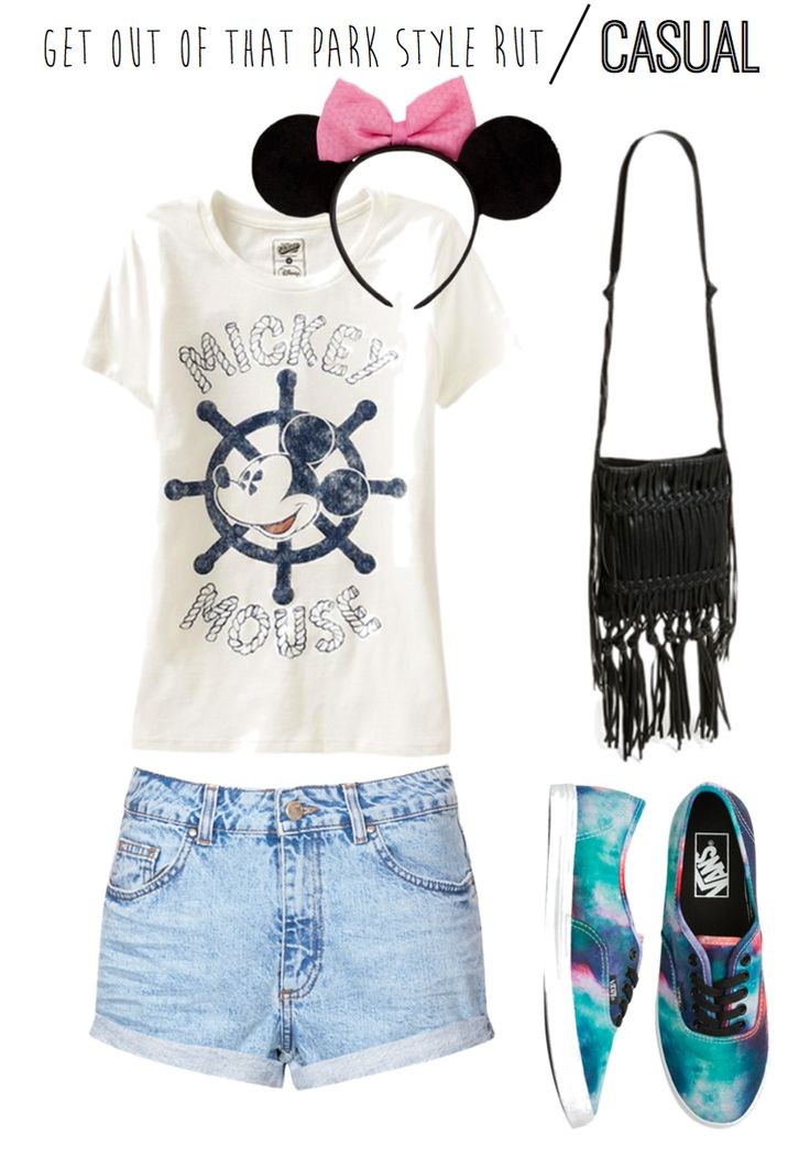 I will be wearing Minnie Mouse ears. Get Out of That Park Style Rut With These Outfits