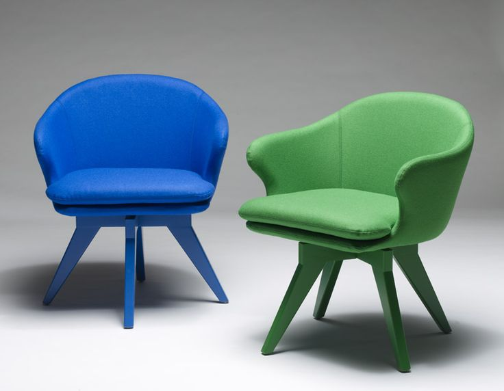 Temperature Design 'August Chairs'...with custom coloured bases!
