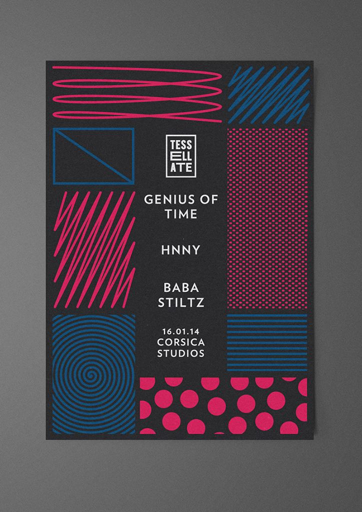 imagesfromitsnicethat:  Alex Sullivan keeps things fresh with cool and ever-changing club night posters. (See more)