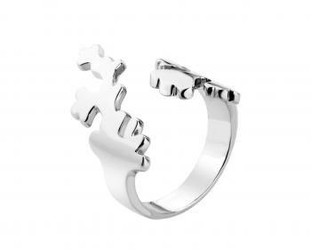 Pierścionek srebrny z kolekcji Indali Apart