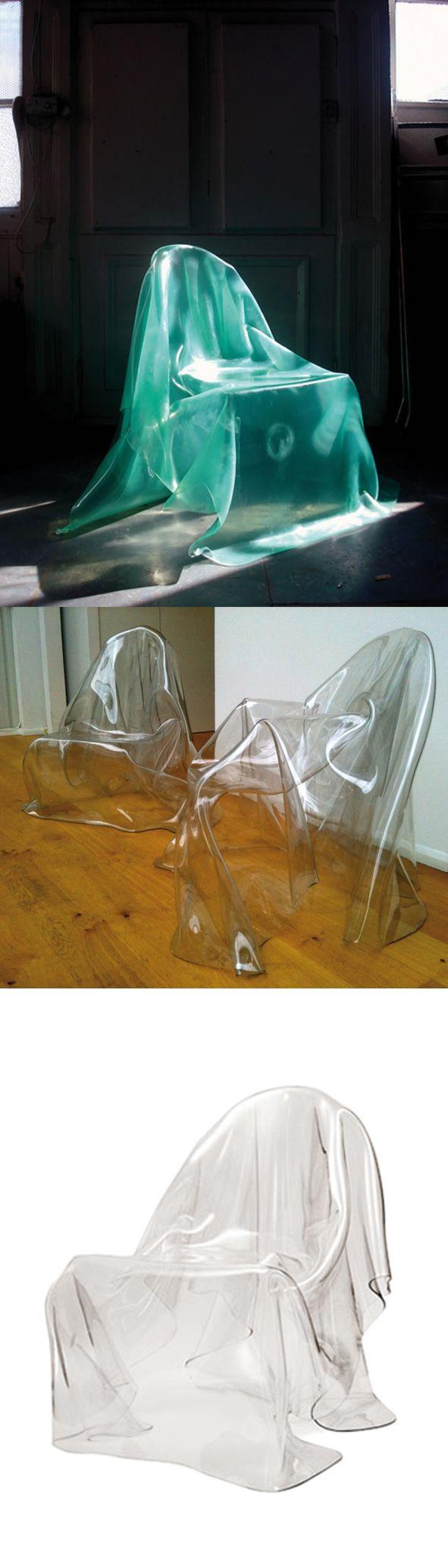 Happy Halloween! Silla fantasma/ Ghost chair by Valentina González Wohlers  #design