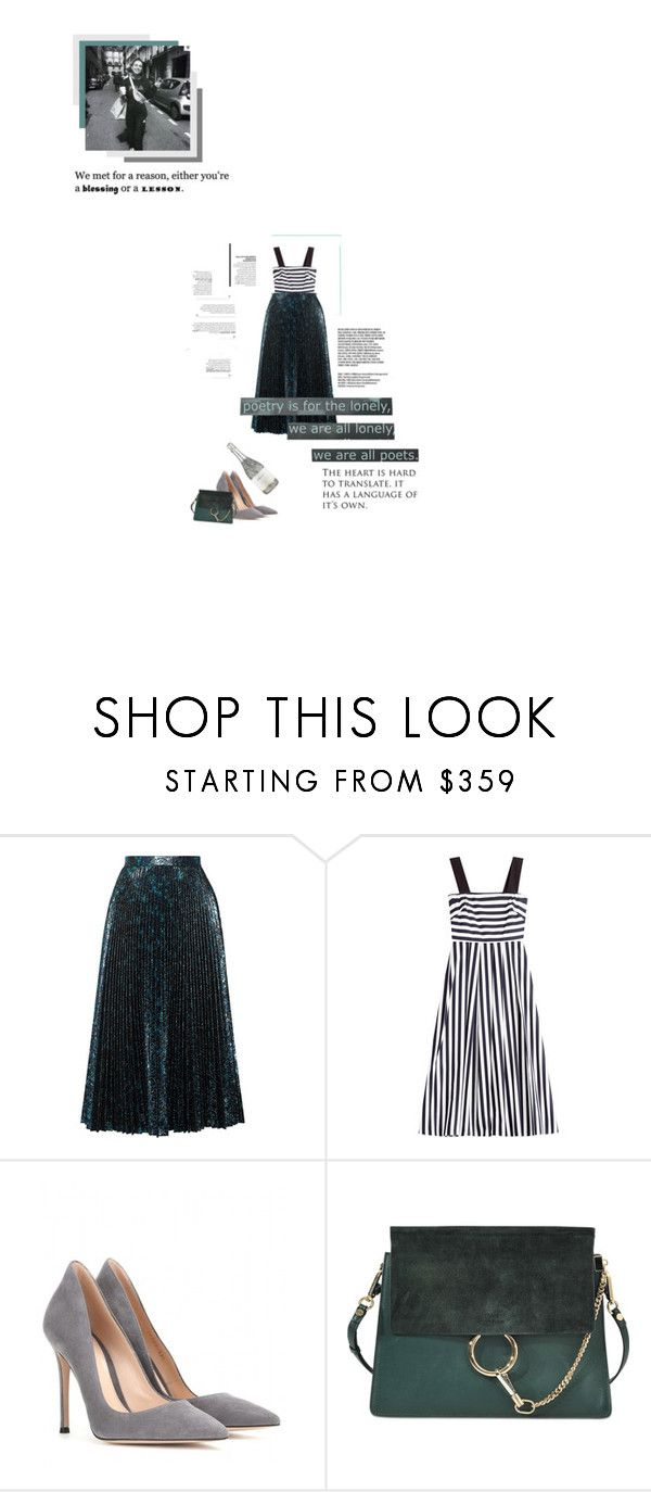 """""""Ageing Potion"""" by young-grasshopper ❤ liked on Polyvore featuring Prada, Tara Jarmon, Gianvito Rossi and Chloé"""