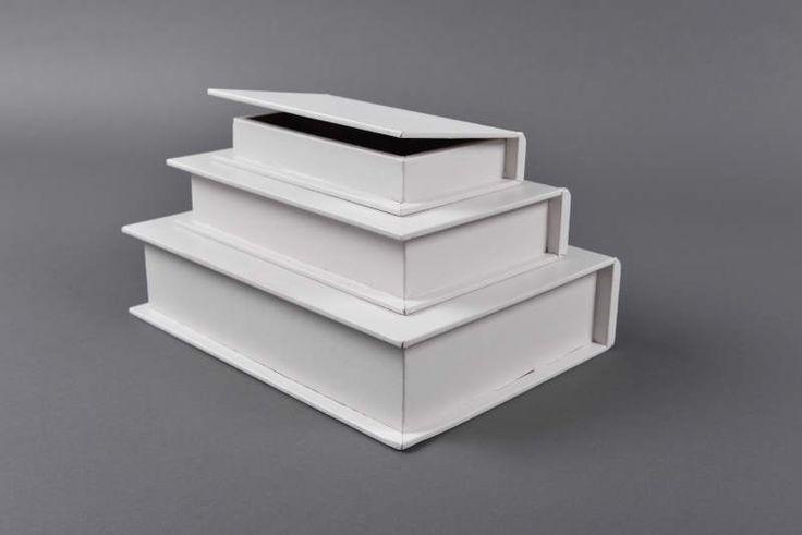 Κουτί βάπτισης τριπλό λευκό