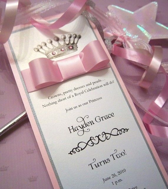 15 Sweet Royalty InVitations RESERVED for by ExQuisiteInVitation