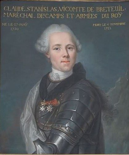 Viscount de Breteuil, Captain of the Galleys and Ambassador of the Order. #OrderofMalta #SMOM