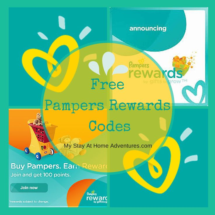 pampers code