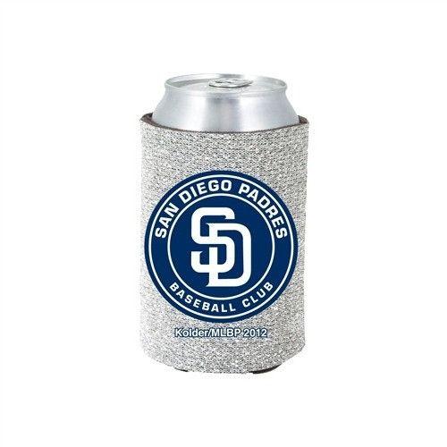 San Diego Padres MLB Glitter Can Holder Cooler