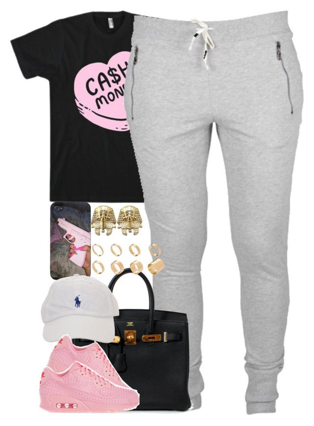 """""""Untitled #1434"""" by power-beauty ❤ liked on Polyvore featuring Hermès, ASOS and NIKE"""