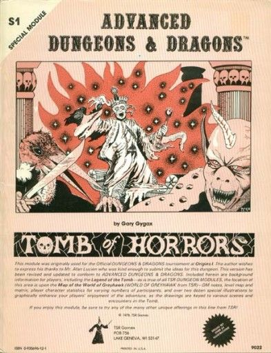 original tomb of horrors - Google Search