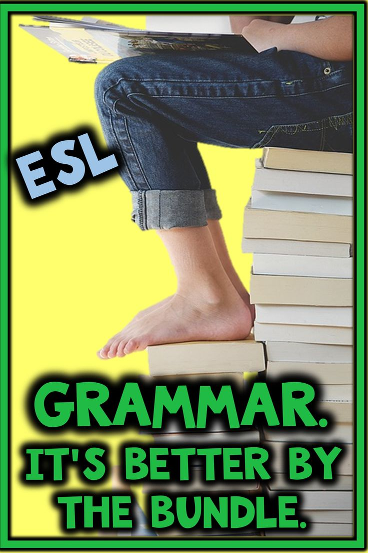 Teaching students who have gaps in their grammar knowledge and need supplemental material?  Just print and go!