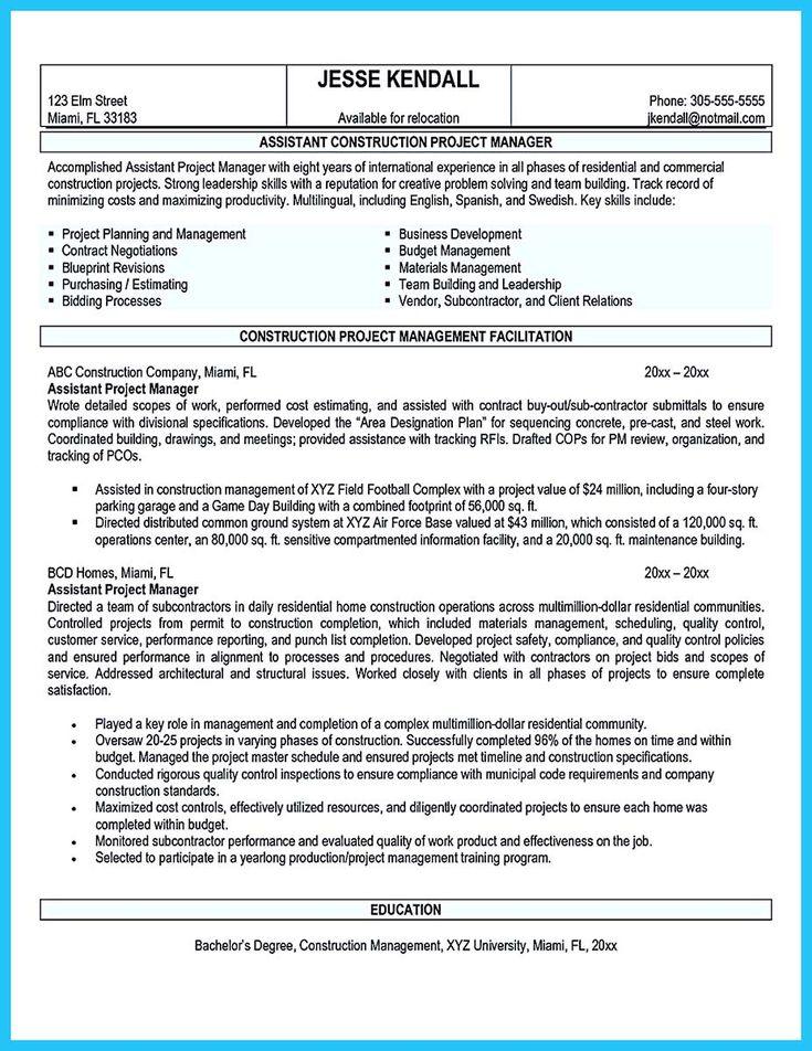 nice Writing a Great Assistant Property Manager Resume,