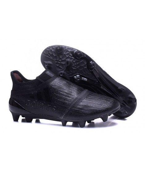 Adidas X 16 Purechaos FG-AG Tacchetti Per Terreni Duri Per Campi In Erba Artificiale Scarpe Da Calcio Nero