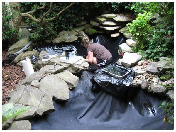 99 best pond repair images on pinterest epdm pond liner for Epdm pond liner