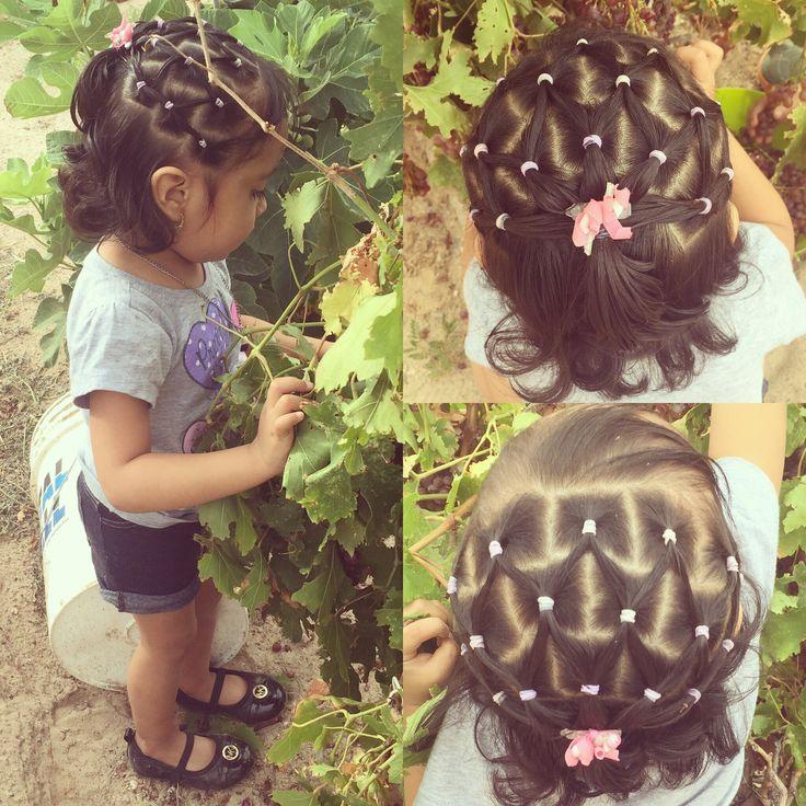 Aleah❤️ #grapes #hairdo