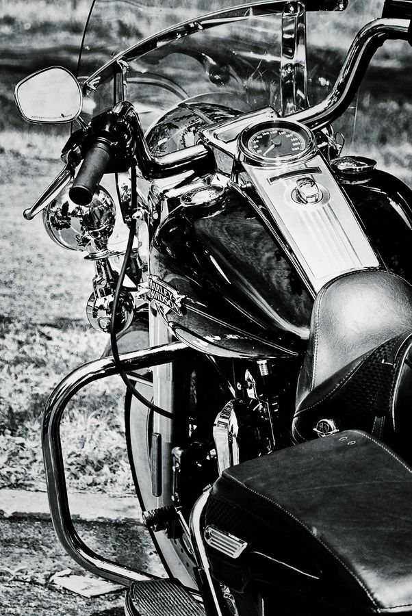 Photo Harley Davidson by André Dubreuil