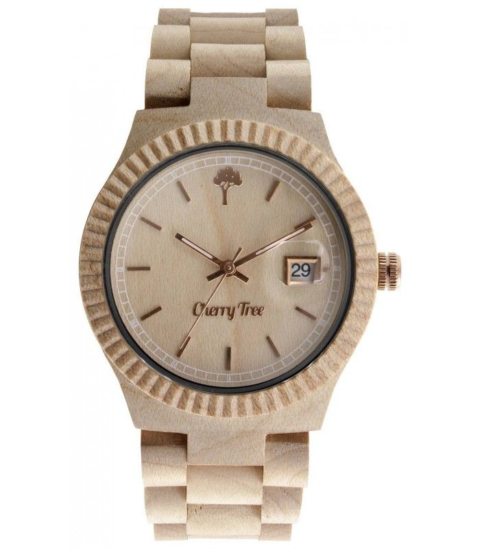 Radius is the watch made from 100% natural Maple wood and is mounted inside the mechanism Miota Japan. Its color so special, is given by its naturalness