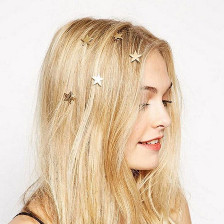 Christmas, New Year, wedding decoration, hair clip STAR #Unbranded