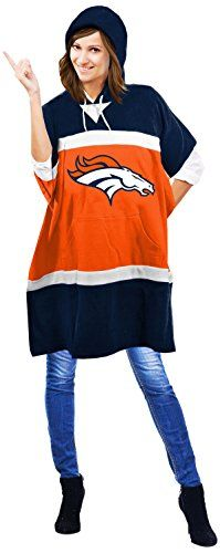 NFL Denver Broncos Hoodie Poncho 705 x 32Inch Orange >>> You can find more details by visiting the image link.