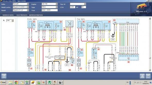Renault Laguna 2 Wiring Diagram Megane Random | Renault megane, Diagram,  RenaultPinterest