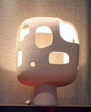 Ceramic Lamp | Andre-Aleth Masson | Mid Century Modern                                                                                                                                                                                 More