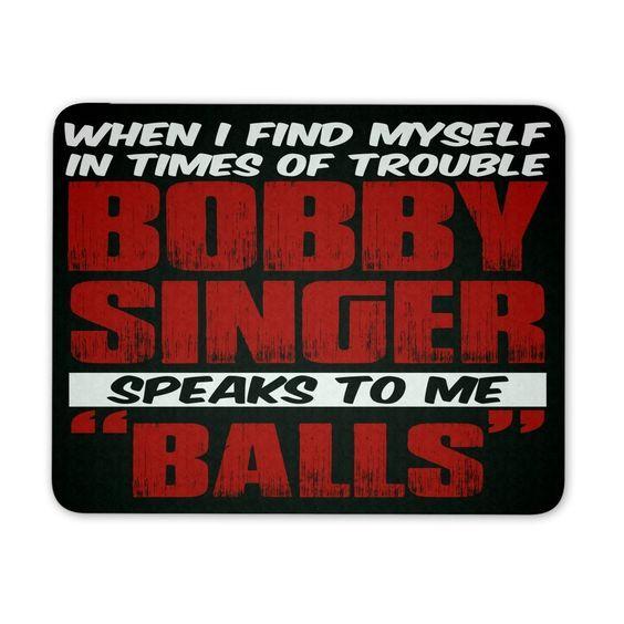 Bobby Singer - Mousepad