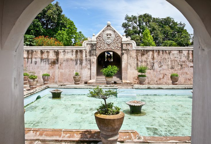 Taman Sari Water Palace Yogyakarta Indonesia