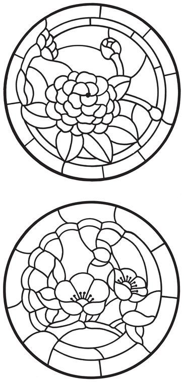 1725 best stained glass patterns images on Pinterest