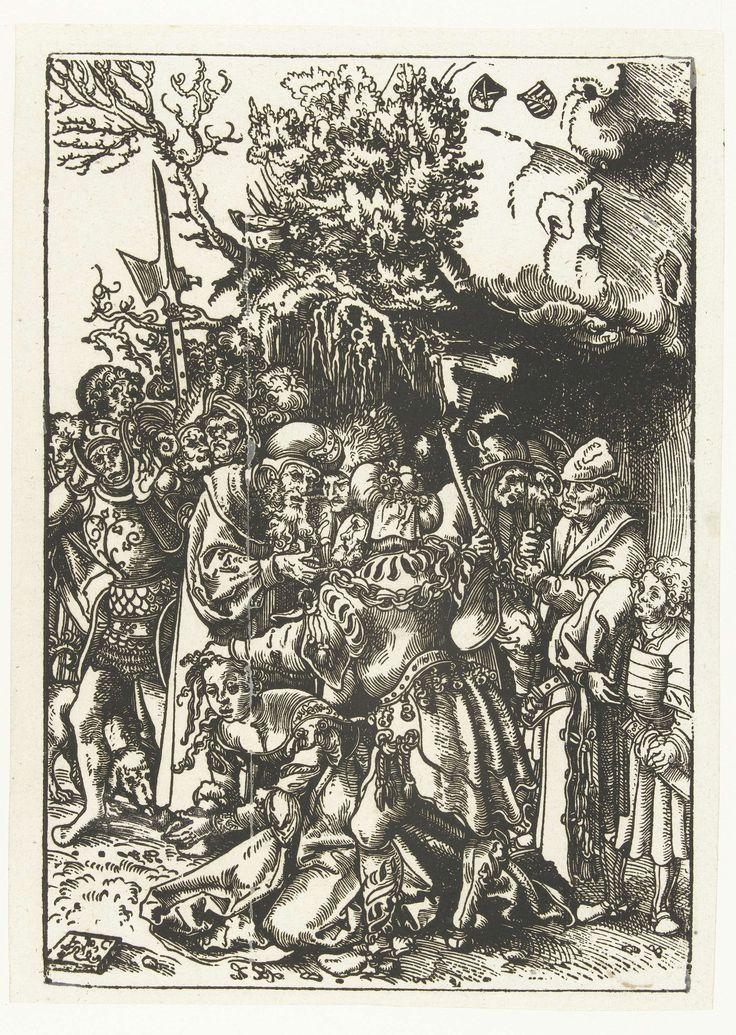 Martelaarschap van Heilige Barbara, Lucas Cranach (I), 1482 - 1553