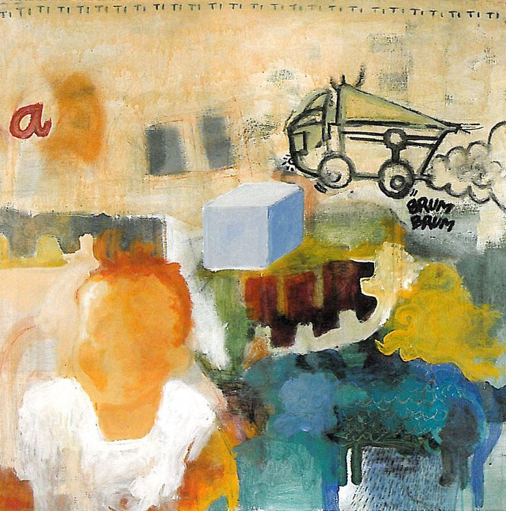 Retrato de marta. primer premio muestra joven de la rioja 1998 150 x 175 cm www.guillermo-moreno.com