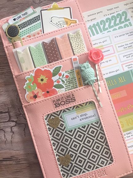 Carpe Diem Reset Girl planner from Simple Stories Marketing Director Layle Koncar