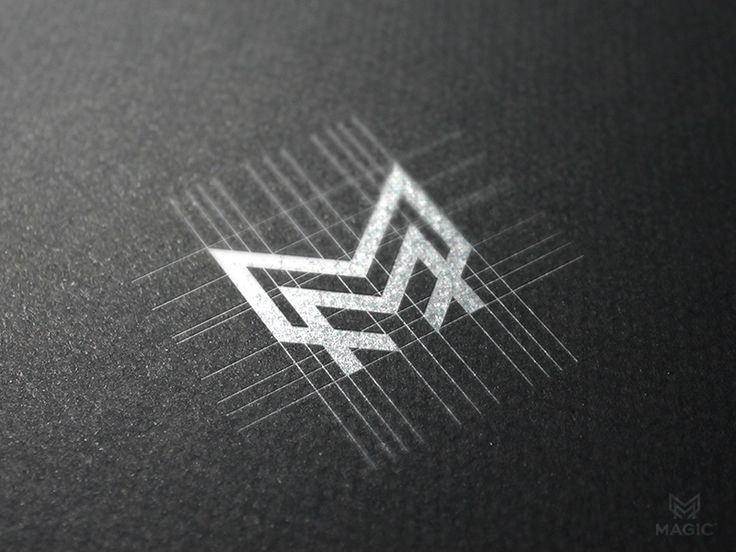 M monogram by Reloart | #corporate #branding #creative #logo #personalized #identity #design #corporatedesign repinned by www.BlickeDeeler.de | Visit our website www.blickedeeler.de/leistungen/corporate-design/logo-gestaltung