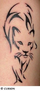 """Another pinner said: My next tattoo probably... ;-)  """"Panthers are known to be loving and gentle with their cubs, yet fierce when it comes to defending their families. This makes a tattoo of a panther the perfect choice for a woman: they represent a courageous and attractive woman who is protective of her loved ones""""."""