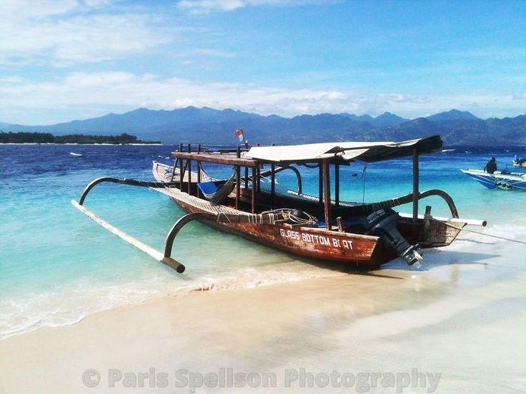 Traditional Indonesian Fishing Boat #Fishingboat #Indonesia #paradise #Art #GiliIslands